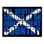 Yes, Scotland should be an independent country,