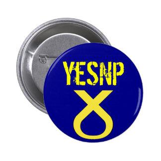 Yes Scotland Vote SNP Badge