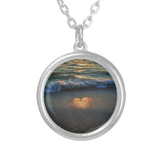 Yes, the Ocean Knows Silver Plated Necklace