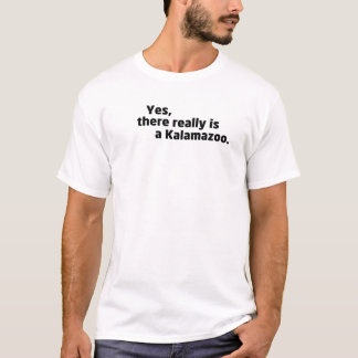 Yes, there really is a Kalamazoo. T-Shirt
