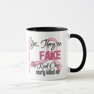 Yes They Are Fake - Breast Cancer