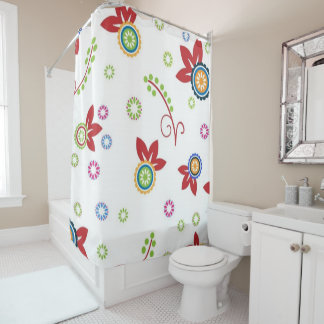 Yes to Color Shower Curtain