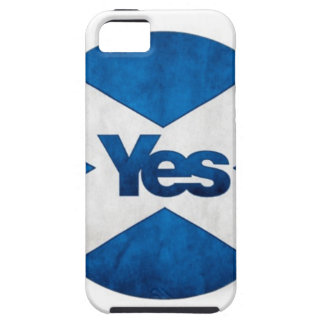 Yes to Independent Scotland 'Saor Alba Go Bragh' Tough iPhone 5 Case