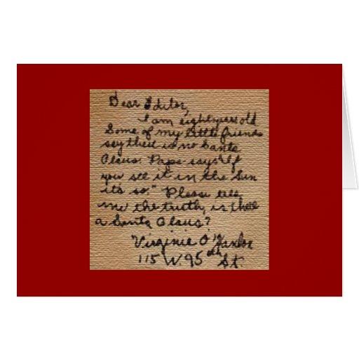 Yes, Virginia Christmas Card