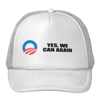 YES WE CAN AGAIN HATS