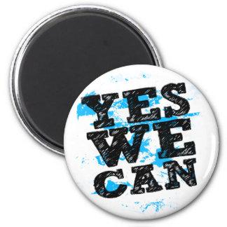Yes We Can Barack Obama Magnet Fridge Magnet
