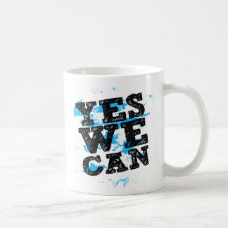Yes We Can Barack Obama Mugs