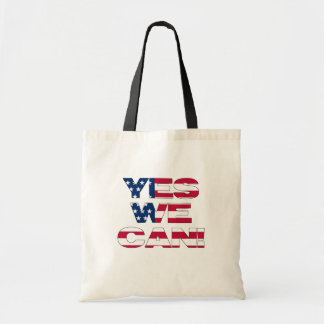 Yes we can! budget tote bag