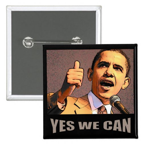 Yes We Can Button
