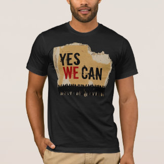 YES WE CAN - CB-CR T-Shirt