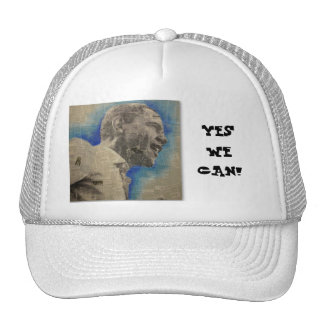 YES WE CAN TRUCKER HAT