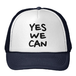 Yes we can hats