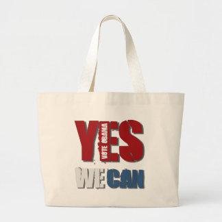 Yes We Can Jumbo Tote Bag