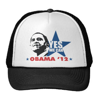 yes we can obama 12 cap