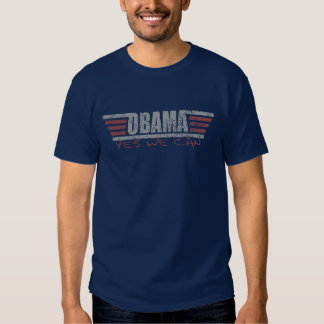 Yes We Can Obama t shirt