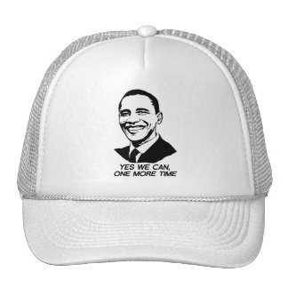 YES WE CAN ONE MORE TIME - png Trucker Hat
