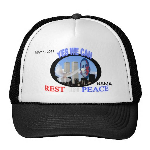 YES WE CAN R.I.P. Hat