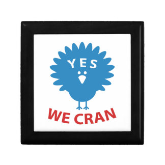 Yes We Cran Small Square Gift Box
