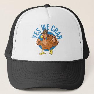Yes We Cran Trucker Hat