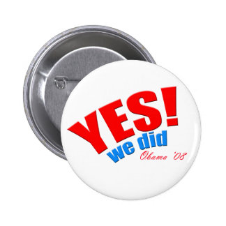 Yes!  We did! Round Button