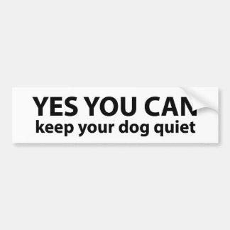 Yes, You Can ---Bumper Sticker Bumper Sticker