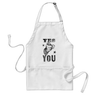 Yes You Standard Apron