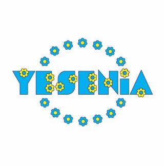 Yesenia in Flores Blue Photo Cutout