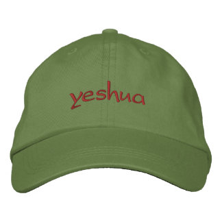 yeshua embroidered hat