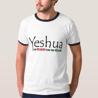 Yeshua Jesus Christmas: Reason for the Season T-Shirt