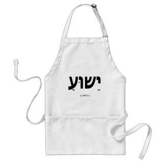 Yeshua Jesus in Hebrew Apron