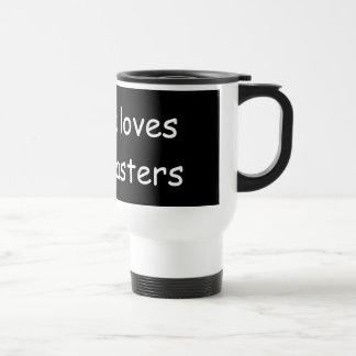 Yeshua loves Broadcasters Mugs