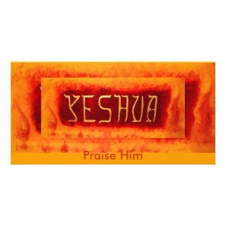 Yeshua,                                 ... photo card template
