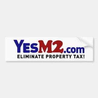 YesM2.com Bumper Sticker Car Bumper Sticker