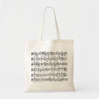 YESTERDAY SHEET MUSIC score Tote Bag