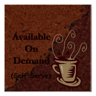 yet another coffee sign to customize
