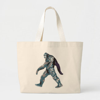 Yet I Believe (Yeti) Large Tote Bag
