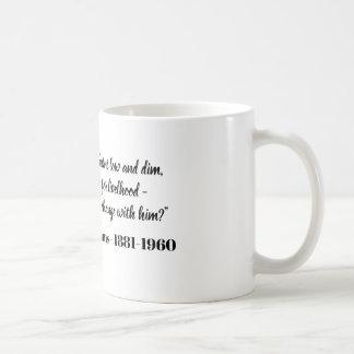Yet though my lamp burns dim - F.P.Adams Coffee Mug