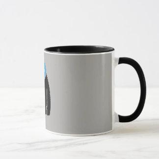 yeti design shape mug