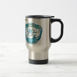 Yeti Lifting J Hook Circle Retro Travel Mug