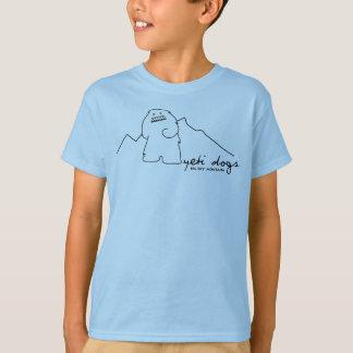 Yeti Lone Peak Kids T-shirt (Black Logo)