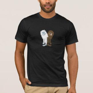 Yeti v Bigfoot T-Shirt