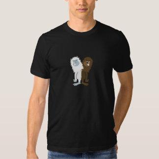 Yeti v Bigfoot Tee Shirt
