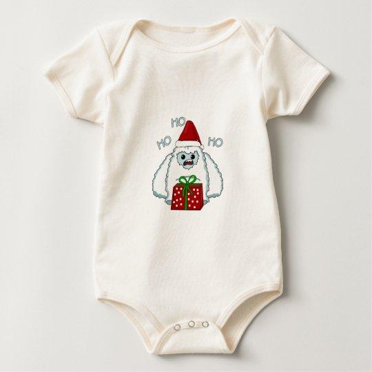 Yeti Xmas Baby Bodysuit