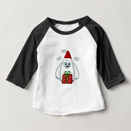 Yeti Xmas Baby T-Shirt