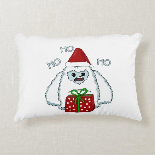 Yeti Xmas Decorative Cushion