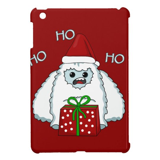 Yeti Xmas iPad Mini Cover