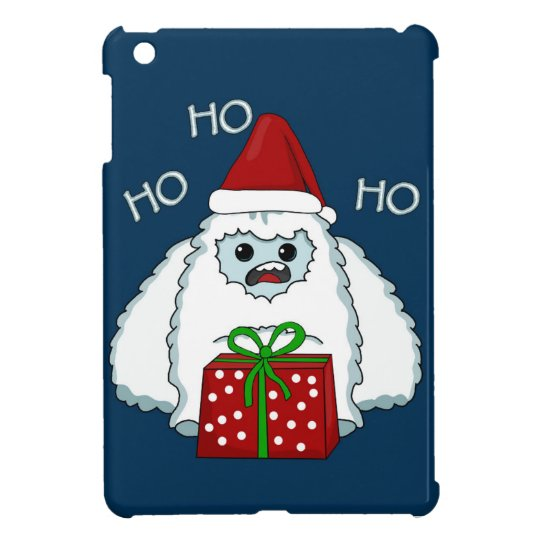 Yeti Xmas iPad Mini Covers