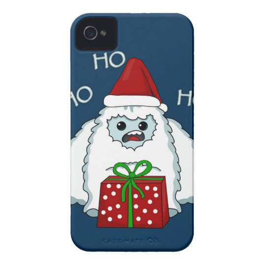 Yeti Xmas iPhone 4 Case