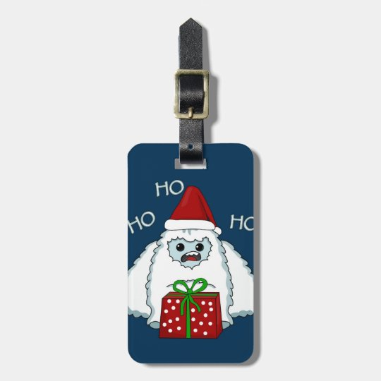 Yeti Xmas Luggage Tag