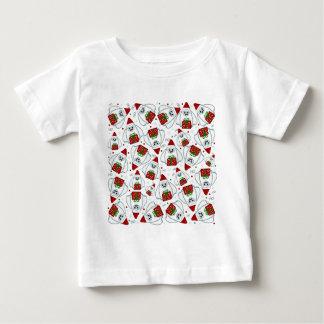 Yeti Xmas pattern Baby T-Shirt